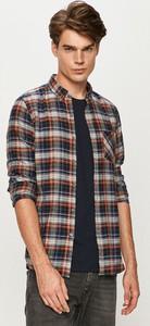 Koszula S.Oliver z długim rękawem z bawełny z klasycznym kołnierzykiem