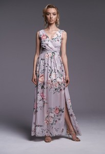 Sukienka Ella Boutique z szyfonu maxi