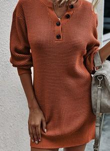 Sukienka Cikelly w stylu casual z długim rękawem mini