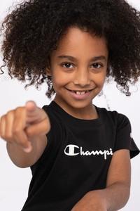 Czarna bluzka Champion z bawełny