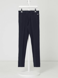 Granatowe spodnie dziecięce Jack & Jones
