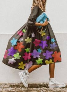 Sukienka Cikelly z dekoltem w kształcie litery v oversize