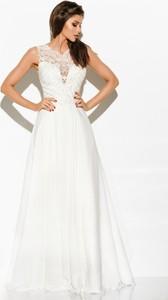 Sukienka LAVIKA gorsetowa z dekoltem w kształcie litery v