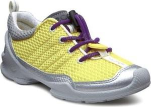 Żółte buty sportowe dziecięce Ecco