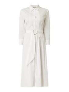 Sukienka Jake*s Collection z kołnierzykiem z długim rękawem