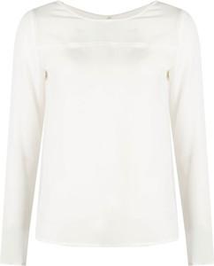 Bluzka ubierzsie.com z okrągłym dekoltem z długim rękawem