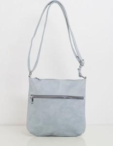 Niebieska torebka Sheandher.pl na ramię ze skóry ekologicznej