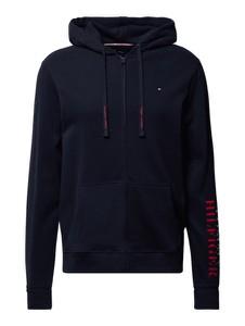 Czarna bluza Tommy Hilfiger w młodzieżowym stylu z bawełny