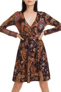 Sukienka Desigual kopertowa