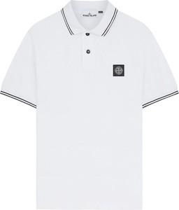 Koszulka polo Stone Island z krótkim rękawem z bawełny