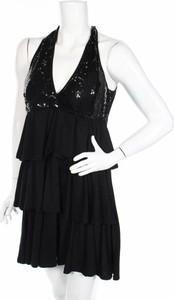 Sukienka DOTS na ramiączkach mini z dekoltem w kształcie litery v