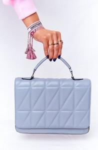 Niebieska torebka bugo.pl ze skóry