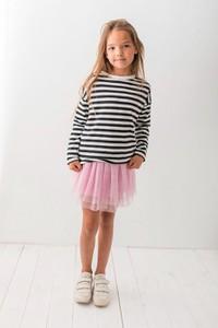 Bluza dziecięca Lily Grey z bawełny