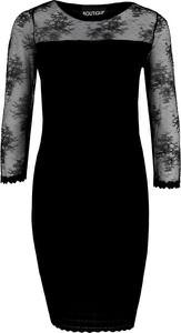 Sukienka Moschino z długim rękawem mini