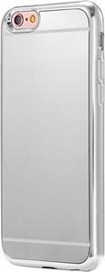 Etuistudio Etui na iPhone 6 / 6s platynowane FullSoft lustro - srebrny.