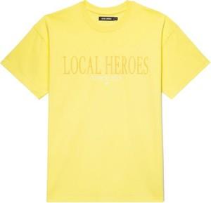 Żółty t-shirt LOCAL HEROES