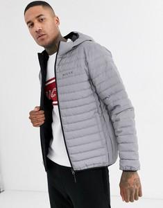 Srebrna kurtka Nicce w młodzieżowym stylu