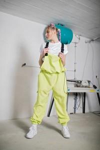 Spodnie REST_FActory z tkaniny