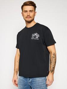 Czarny t-shirt Levis z krótkim rękawem