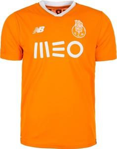 Pomarańczowy t-shirt New Balance