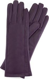Fioletowe rękawiczki Wittchen