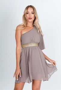 Różowa sukienka Zoio bez rękawów mini