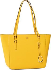 Żółta torebka eobuwie.pl duża w wakacyjnym stylu