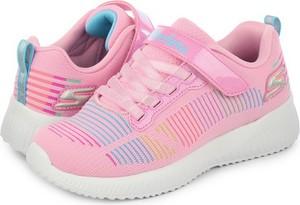 Buty sportowe dziecięce Skechers dla dziewczynek na rzepy