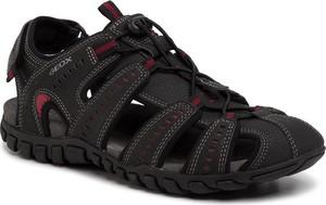 Buty letnie męskie Geox sznurowane