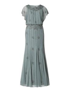 Sukienka Lace & Beads z okrągłym dekoltem