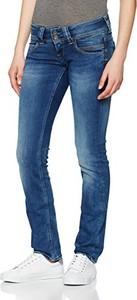 Niebieskie jeansy Pepe Jeans w młodzieżowym stylu