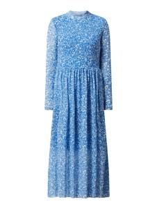 Niebieska sukienka Tom Tailor Denim w stylu casual z dekoltem w kształcie litery v
