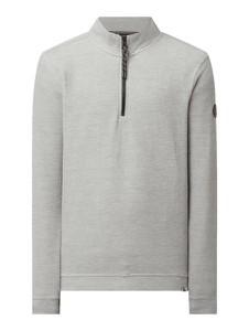 Sweter Lerros z dresówki w stylu casual