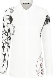 Koszula Desigual z długim rękawem z kołnierzykiem