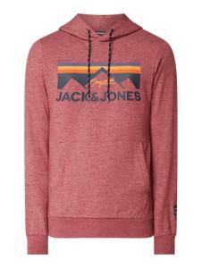 Bluza Jack & Jones z bawełny z nadrukiem