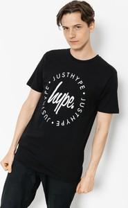 Czarny t-shirt Hype w młodzieżowym stylu