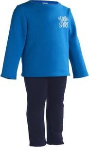 Niebieski dres dziecięcy Domyos