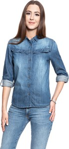 T-shirt Mustang z jeansu