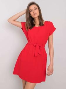 Sukienka Sheandher.pl w stylu casual z krótkim rękawem