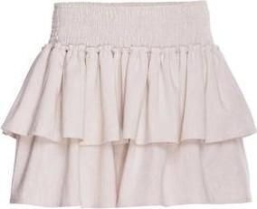 Różowa spódnica Blackbow z bawełny w sportowym stylu mini