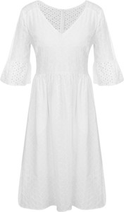 Sukienka BOSS Casual w stylu casual