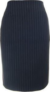 Granatowa spódnica Classic Fashion