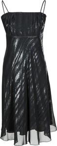 Sukienka Fokus midi z szyfonu