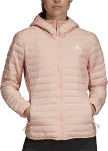 Różowa kurtka Adidas z tkaniny