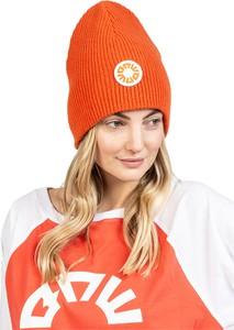 Pomarańczowa czapka Robert Kupisz