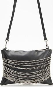 Czarna torebka Reserved duża na ramię