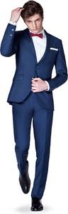 Niebieski garnitur LANCERTO z tkaniny
