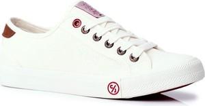 Trampki Męskie Cross Jeans Białe FF1R4055C