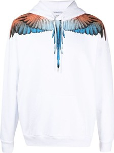 Bluza Marcelo Burlon z bawełny z nadrukiem w młodzieżowym stylu