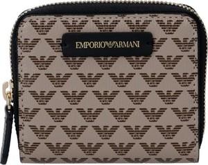 Brązowy portfel Emporio Armani